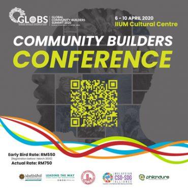 Community Builder Conferences outline 18 2 2020