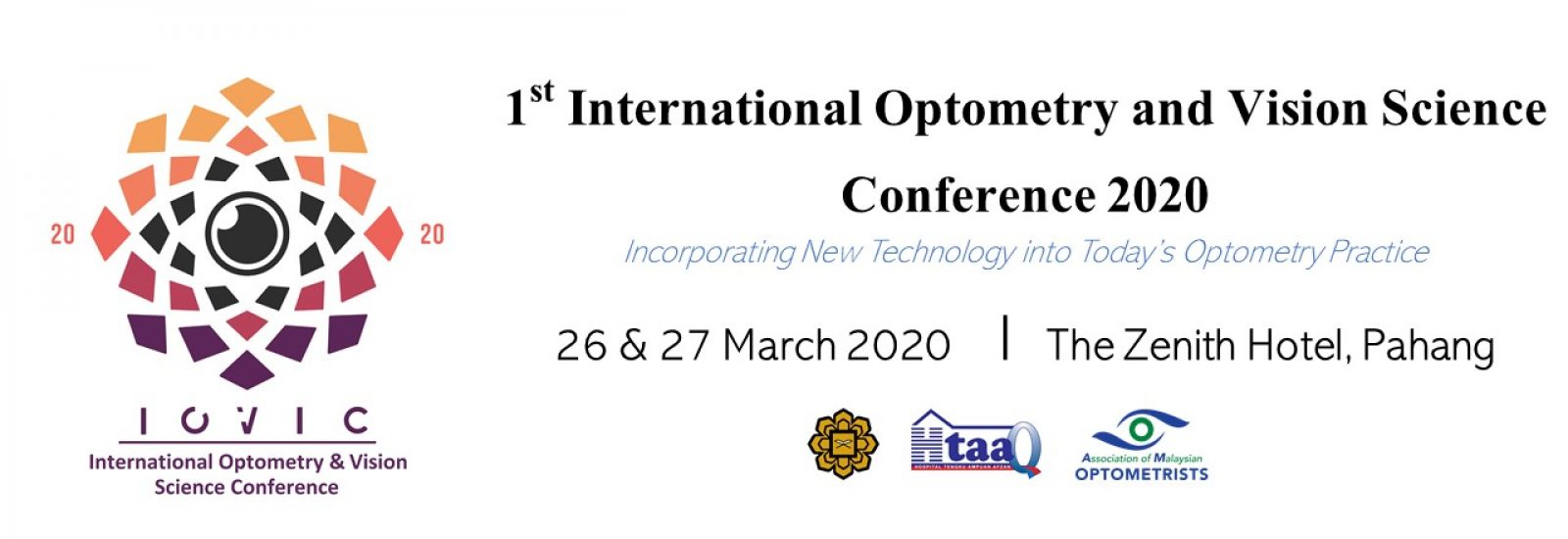 International Optometry and Vision Science Conference 2020