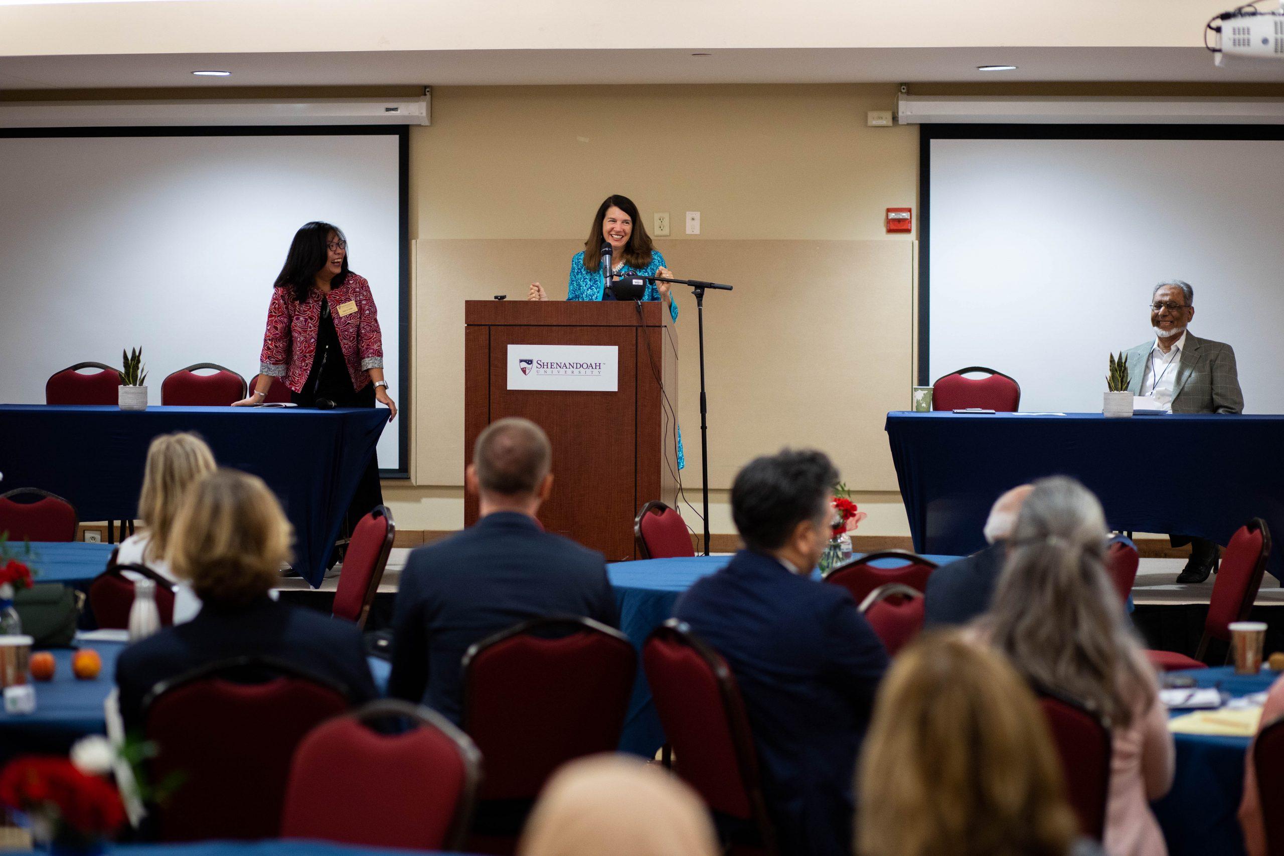 Keynote Speaker at Shenandoah University